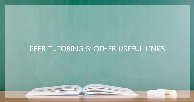 useful peer tutoring links and resources