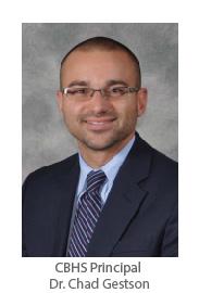 CBHS Principal Dr. Chad Gestson