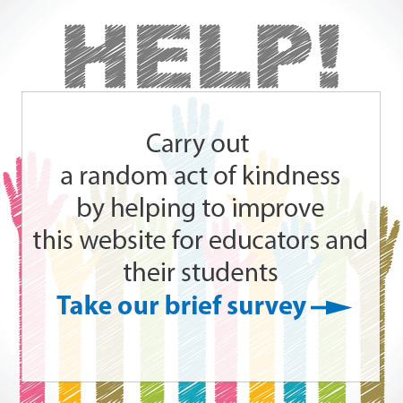 Help improve the peer tutoring resource website by taking our survey