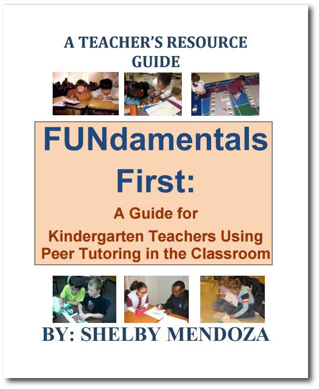 kindergarten peer tutoring guide